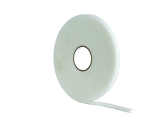 STORMGUARD White 05SR039015MW 15m Ultraseal Soft Self-Adeshive Foam Draught Excluder, L-15 Metres W-8mm H-6mm