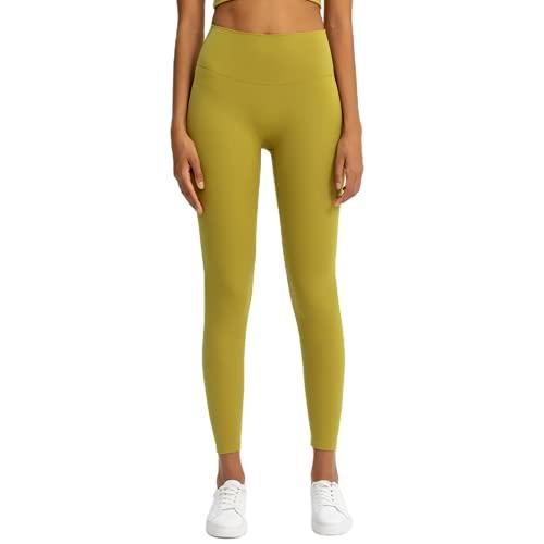 Pantalones de Yoga de Cintura Alta para Mujer, Mallas Deportivas de Gimnasio Anti-Sentadillas, Pantalones elásticos de Secado rápido para Correr al Aire Libre, JL