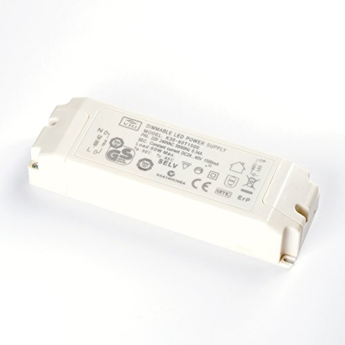 LED Driver VIG dimmbar 60W 1500mA 24-40V K30-60T1500 Power Supply dimmable