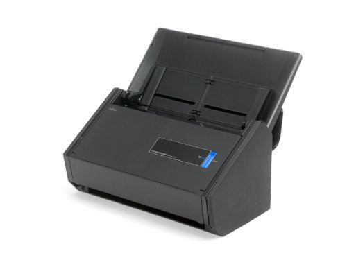 : Fujitsu ScanSnap iX500 Deluxe Bundle Scanner for PC (PA03656-B015) : Document Scanners