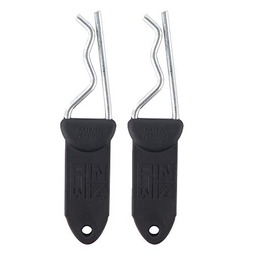 Purchase Pin Wiz Trailer Hitch Clip | Black | 2 Pack