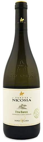 Cantine Nicosia Vino Fondo Filara Etna Bianco Bio - 6 bottiglie da 750 ml