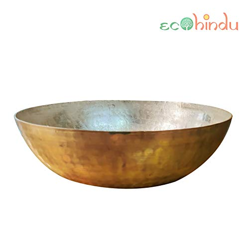 Ecohindu- woks, cooking wok, wok set, fried pan, wok cast iron, woks and stir fry pans with lid, kadai indian for frying, kadhai for deep frying, 14 wok, best wok