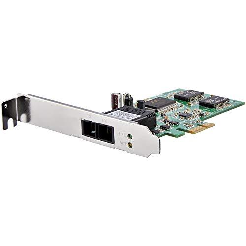 StarTech.com LWL / Glasfaser PCI Express Gigabit Netzwerkkarte - SC Fibre Channel Multimode NIC - 550m - PCIe GbE Fiber Network Card