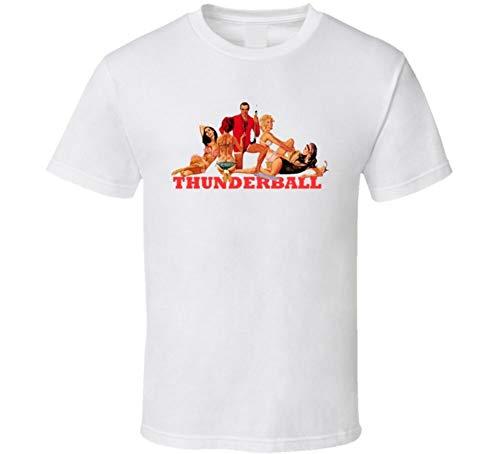 VeTo Thunderball Sean Connery James Bond 007 Movie T Shirt