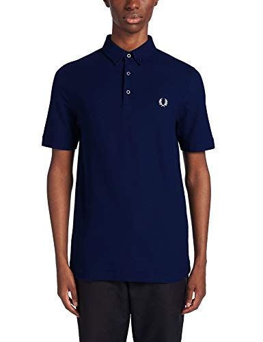 Fred Perry Polo Botton Down Carbon Blue S