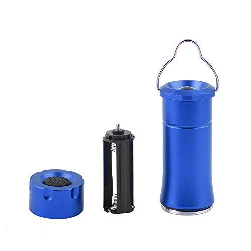 YANGH Linterna de aluminio para tienda de campaña, camping, senderismo, linterna LED, portátil, para exterior, pesca