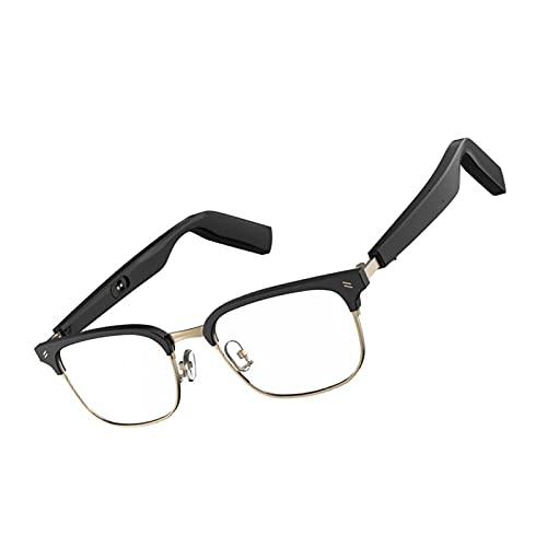 FLAMEER Gafas Inteligentes Impermeable Anti-Blue Lente Audio Gafas Audio Gafas para Reunión