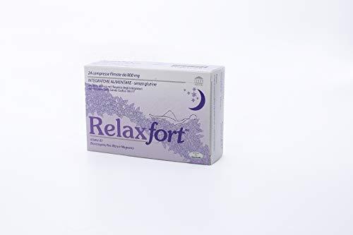 Relaxfort Integratore alimentare contro ansia, stress e insonnia