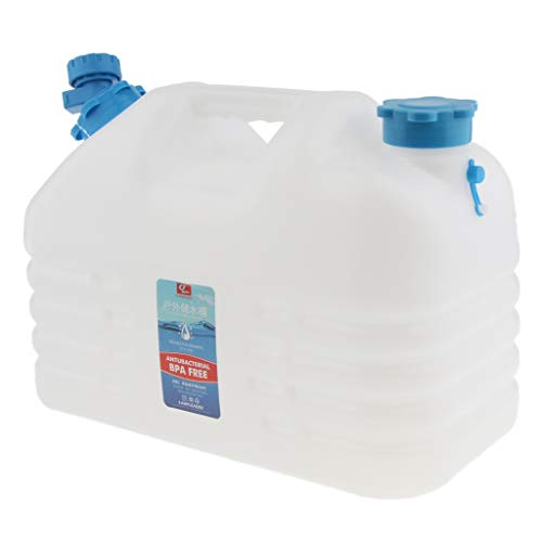 F Fityle Bolsa de Almacenamiento Portátil de Supervivencia para Contenedores de Agua Potable para Acampar, Senderismo, Barbacoa -