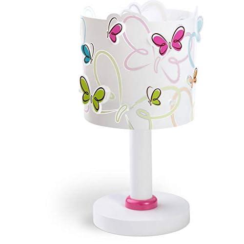 Dalber Farfalle Lampada da Tavolo E14, 40 W, Multicolore, 290 x 150 x 150