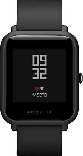 Amazfit Bip Lite Smartwatch - mit Herzfrequenz-Messung, Smart Notifications - 3ATM wasserdicht, Black