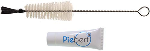 10ml Piebert Spezial Silikonfett + Reinigungsbürste mit Pinsel für Brühgruppen in Kaffeevollautomaten