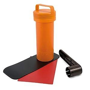 Mit Reperatur Kit für Notfälle
