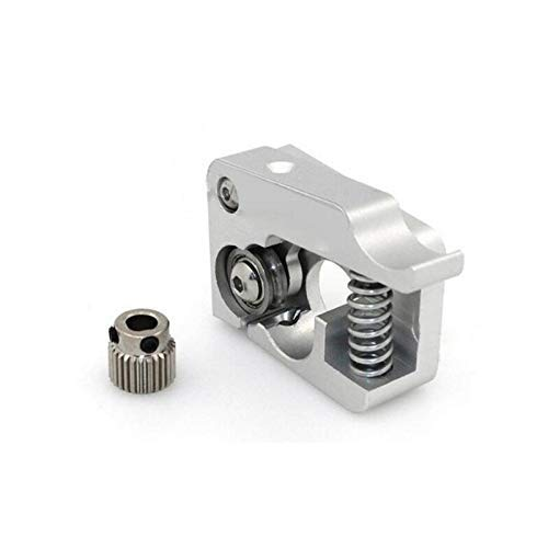 Printer Accessories Left or Right 1.75mm MK10 Extruder Hand Arm Full Metal for Bowden 3D Printer Parts for Makerbot Replicator 2 Aluminum Part Extrusion Extruders Components (Size : Right)