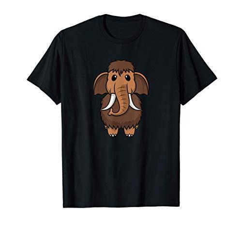 Lindo bebé prehistórico mamut Camiseta