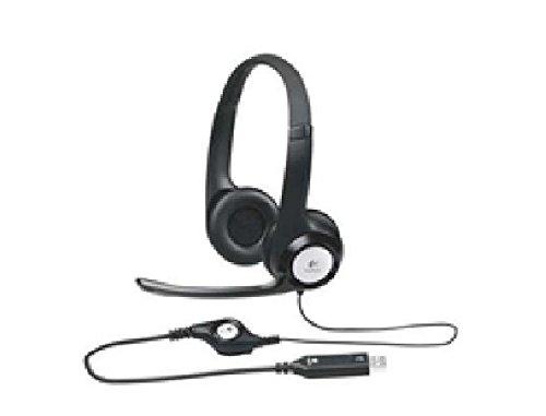 USB Headset H390 Komfortables Stereo-Headset mit weich gepolstertem Kopfbügel und weich gepolsterten Ohrmuscheln fürstundenlangen Tragekomfort, flexiblem und drehbarem