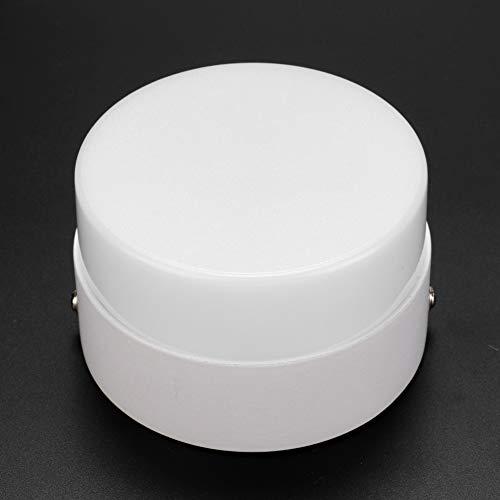 Luz empotrada con Sensor de Ahorro de energía Duradera, bajo Consumo de energía Luz empotrada en el Techo de Alto Brillo, Pasillo Resistente para Pasillo(Cold White)