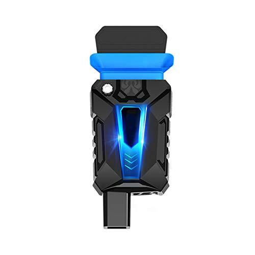 Anabei Ventilador de escape para ordenador portátil tipo mini silencioso azul