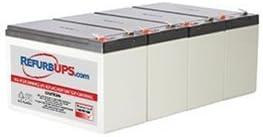 APC/Dell Smart-UPS 1400 Rack Mount 3U (DL1400RM) Compatible Replacement Battery Kit