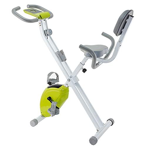 BOTOWI Cyclette Magnetica Attrezzi Palestra Casa, Cyclette Pieghevole Unisex Adulto, capacità di Carico 120 kg, Cyclette Spinning per l'allenamento Integrato
