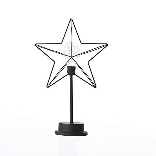 WFBD-CN Lámpara de Escritorio LED Romántica Estrella decoración Linterna Hierro Cobre luz Creativa LED Forma Noche luz lámpara de Mesa lámpara de Escritorio Flexible del LED