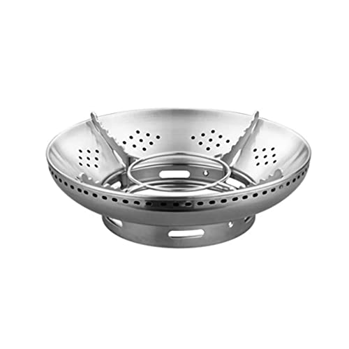 KRLZA sklzj Bracket Stainless Steel Barbecue Windshield Non-slip Gas Stove Camping Kitchen Cooking Barbecue Appliance
