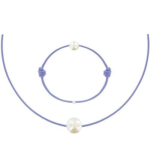 Colors Bracelet La Perle de Culture Noire des Poulettes Les Poulettes Bijoux