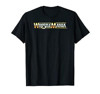 WWE Wrestlemania Logo T-Shirt