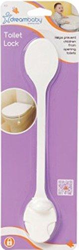 Dreambaby Toilet Lock - White (2 Pack)