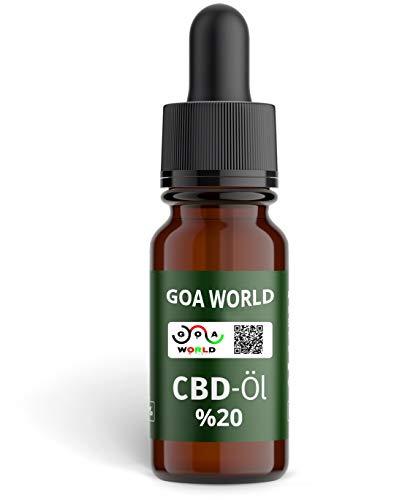 CBD ÖL 20 % Marke GOA World, 10ml 1...