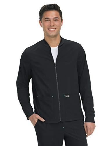 KOI Basics 448 Unisex Hayden Scrub Jacket Black XL