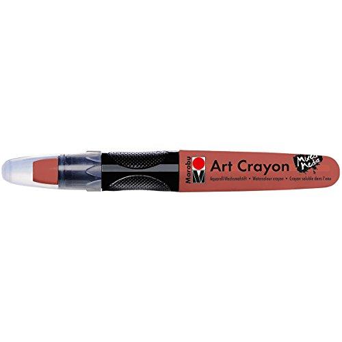 Marabu 01409003008 Creative Art Crayons, Brown
