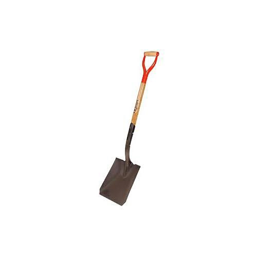 A.M. Leonard Square Point Closed Back Shovel with D-Grip Handle - 30 Inches