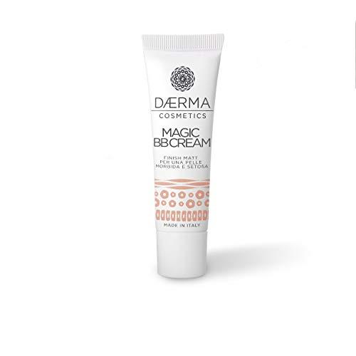 DAERMA Magic BB Cream mit Hyaluronsäure und mikroverkapselten Pigmenten für ein natürlich strahlendes, feuchtigkeitsspendendes und gleichmäßiges Aussehen, weiche und...