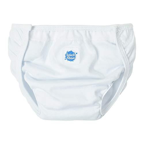 Splash About NW2 - Protector de pañal Unisex, Color Blanco, Talla Media ⭐