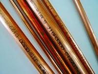 銅パイプ 銅直管 5分 15,88 (厚み 0.8t) 長さ80cm(±1cm以下)