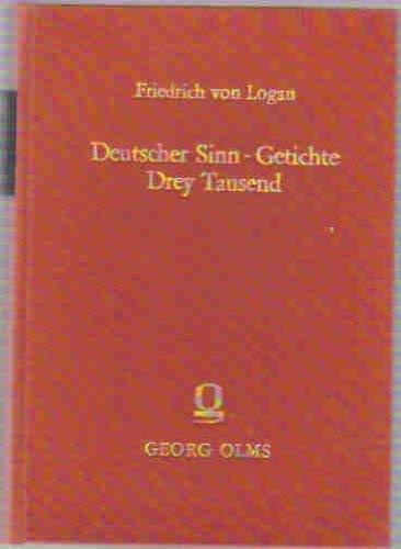 Deutscher Sinn-Getichte Drey Tausend