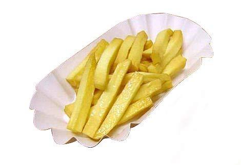 ERRO Pommes Frites - Fast Food Nachbildung, Lebensmittelattrappe