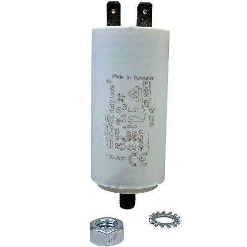 12.5 mF uF Microfarad Universal Kondensator Motor Capacitor 400 / 450V 3068081