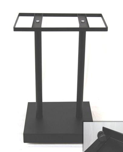 Käfigständer mit Rollen, 47x36x67 cm, silber