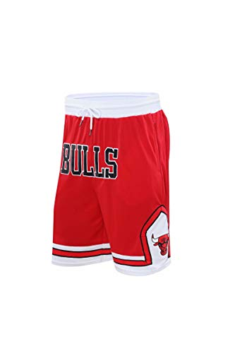 YAZHIJIAO Basketball Shorts for Men Shorts Mens runnnig Shorts Gym Shorts with Pockets (815-Red, X-Large)