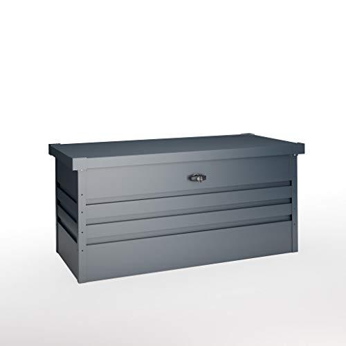 Hoggar AARHUS II 300L Metall Aufbewarungsbox - Aufbewahrungstruhe - Gartentruhe - Gartenbox