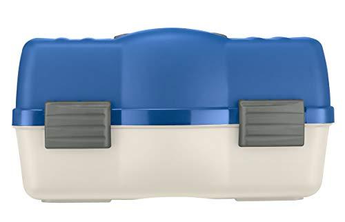 Plastica Panaro 138585, Valigetta Pesca Unisex Adulto, Bianco e Blu, 46 x 282 x 253 mm