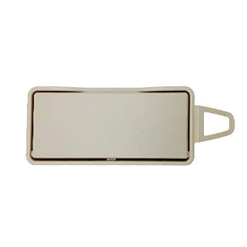 ben-gi La sombrilla del Coche Beige Maquillaje Cubierta del Espejo del reemplazo para W212 W218 E260 CLS300