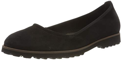 Gabor Shoes Damen Casual Geschlossene Ballerinas, Schwarz (Schwarz 17), 38.5 EU