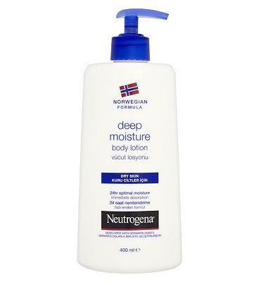 Neutrogena Norwegian Formula Lotion corporelle hydratante pour peaux sèches 400 ml