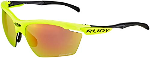 Rudy Project Agon Racing Pro Glasses Yellow Fluo/orange 2018 Fahrradbrille