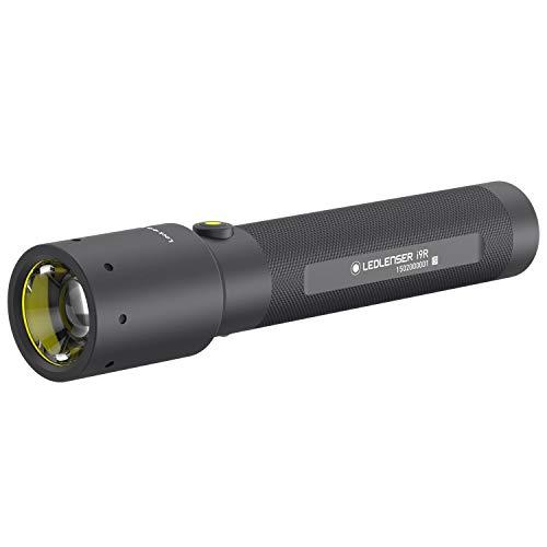 Lenser - Torcia industriale ricaricabile i9R, colore: Nero
