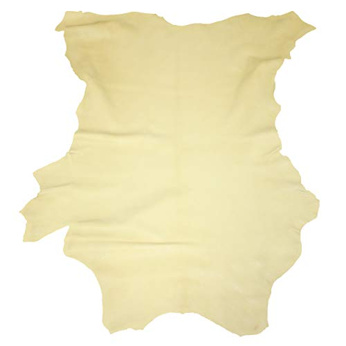 Glacier Wear First Quality Buckskin Leather - Palomino (Smooth Suede) 4-5 oz